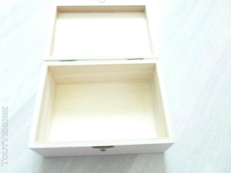 boite à bijoux, photos en bois