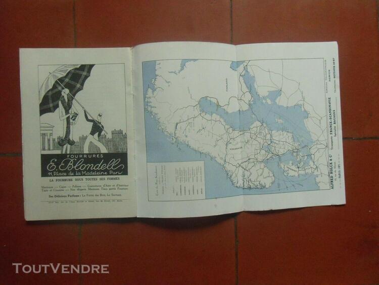 brochure croisières nordisk-voyages suède norvège