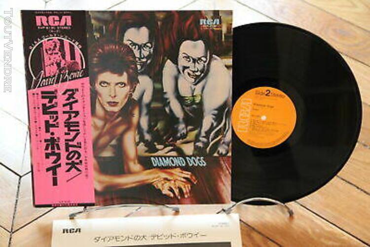 Diamond dogs bowie rock & roll, classic rock vinyl lp japan