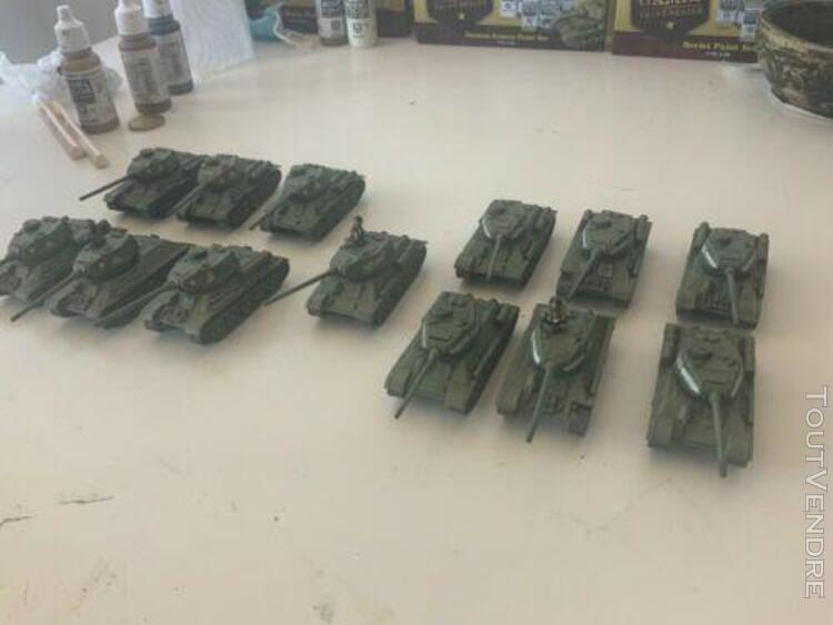 Flames of war soviet t-34 tank batallion 13 x t-34/85