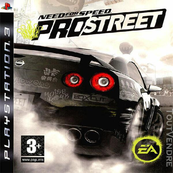 jeux ps3 need for speed prostreet