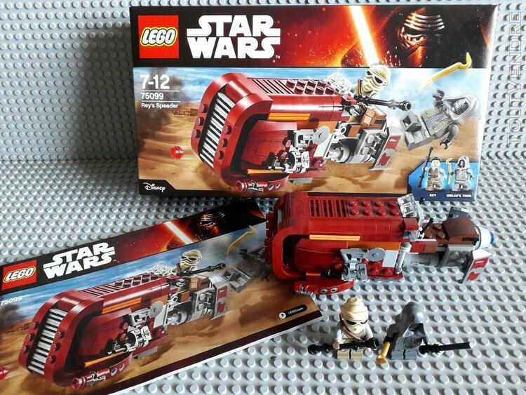 Lego star wars - 75099 - rey 's speeder + complet