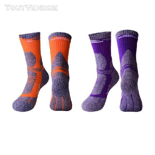lot de 2 chaussettes de ski femme randonnée alpinisme