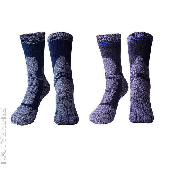 lot de 2 chaussettes de ski homme randonnée alpinisme