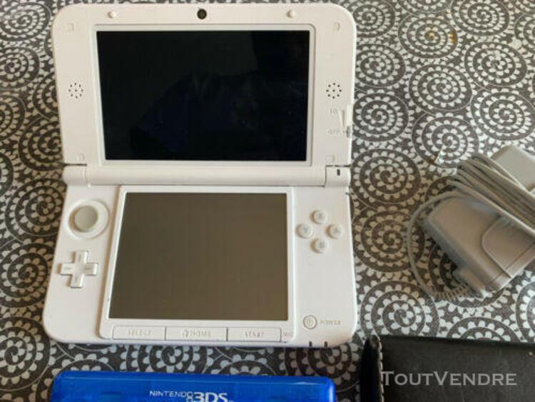 Nintendo 3ds xl blanche + chargeur