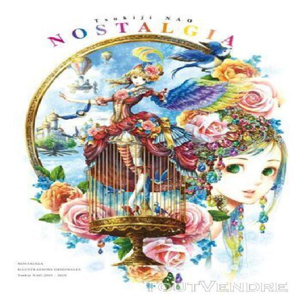 Nostalgia - nao tsukiji - artbook: illustrations originales