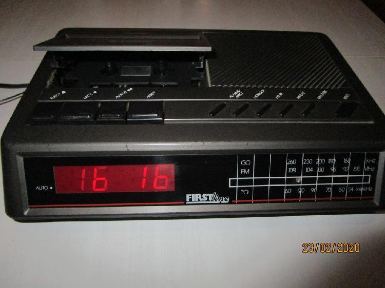 radio réveil/ enregistreur cassettes électrique occasion,