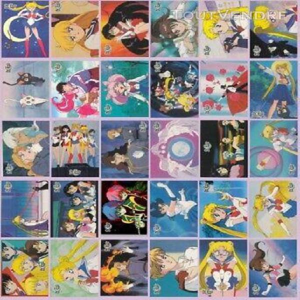 sailor moon dart trading card