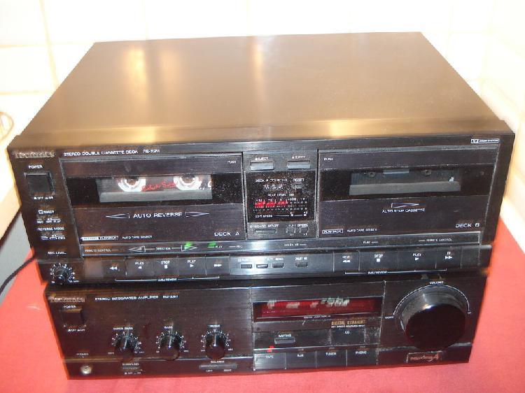 Technics rs-x911 lecteur double cassette stéréo enre