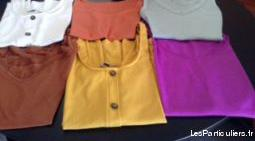 tee shirts - débardeurs femme (taille 38)