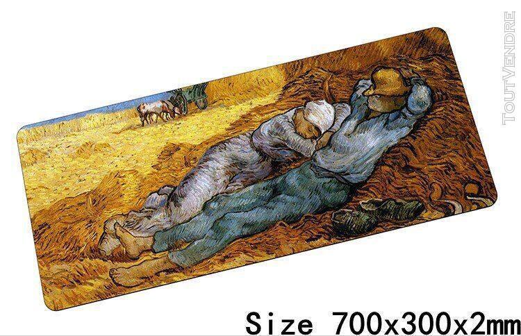 Van gogh tapis de souris 70x30cm tapis à souris notbook