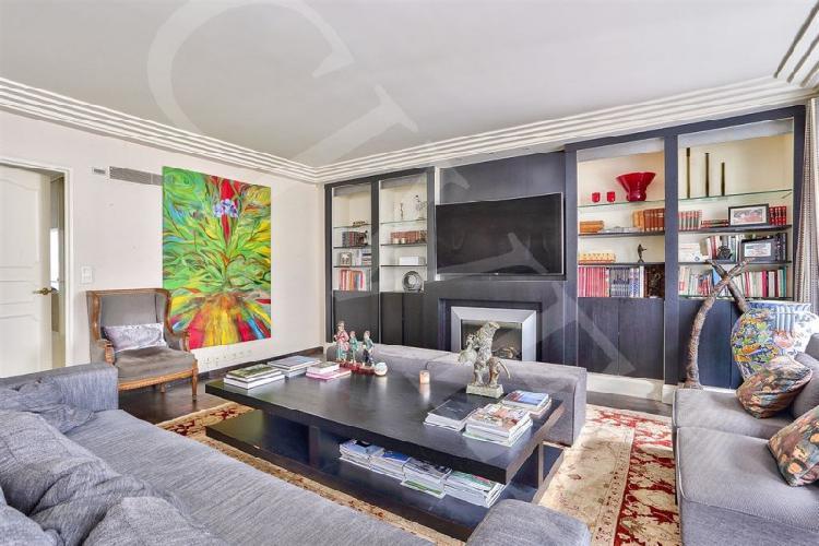 vente de prestige appartement 185m² paris 16ème - chaillot