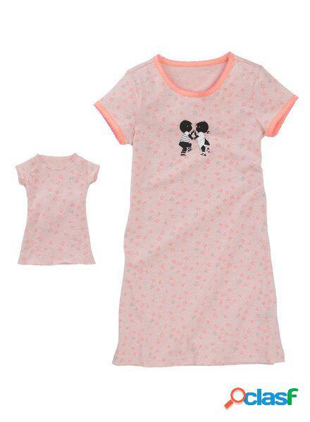 Hema chemise de nuit enfant rose pâle (rose pâle)
