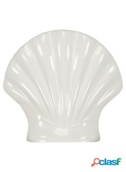 Hema vase coquillage 15x15.5