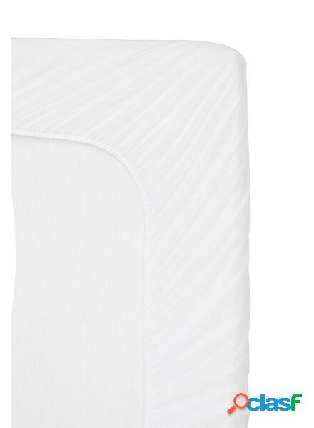 Hema drap-housse molleton - imperméable - 90 x 200 cm (blanc)