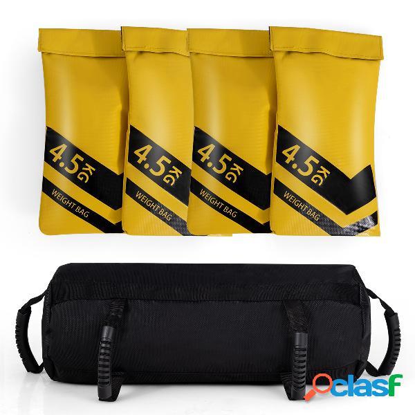 Costway fitness sacs de sable haltérophilie pour l'entraînement renforcé pour musculation exercise 18 kg