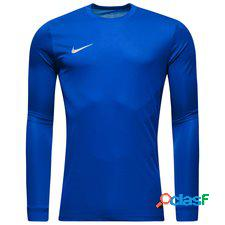 Nike maillot de football park vi l/s bleu/blanc