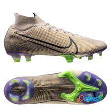 Nike mercurial superfly 7 elite fg terra - sable/noir/violet