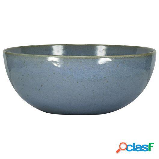 Hema grand bol 26 cm - porto émail réactif - bleu (bleu)