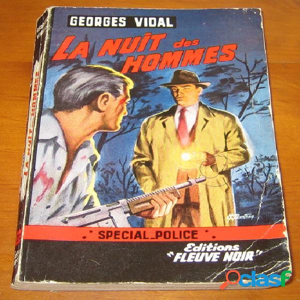 La nuit des hommes, georges vidal