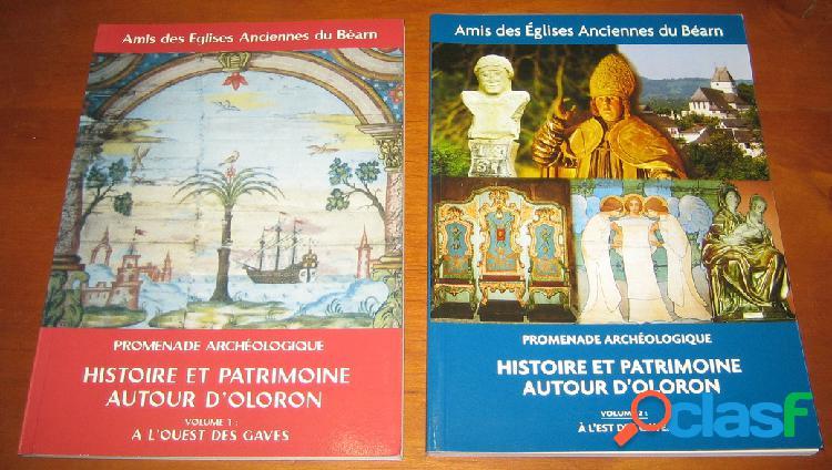 Promenade archéologique: histoire et patrimoine autour d'oloron (2 tomes)