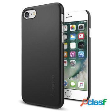 Coque spigen thin fit pour iphone 7/8/se (2020) - noire
