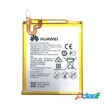 Batterie huawei hb396481ebc pour honor 5x, 6, y6ii compact