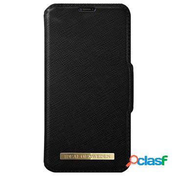 Étui portefeuille ideal of sweden fashion pour iphone x / iphone xs - noir