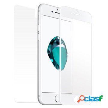 Iphone 7 star-case fullcover 3d tempered glass - white
