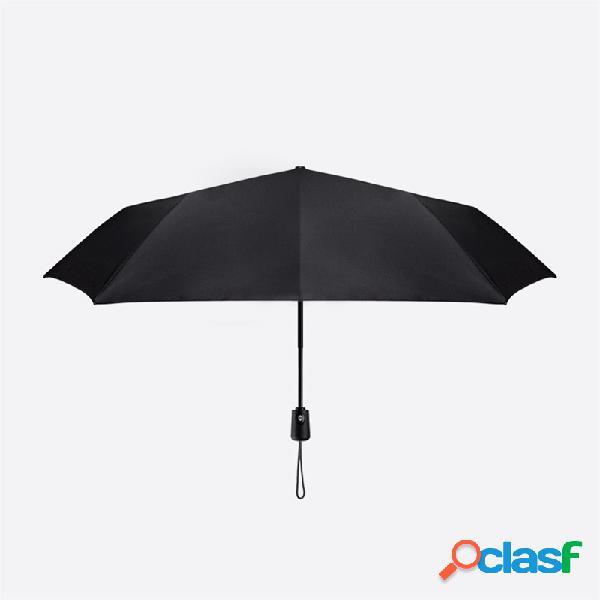 Parapluie automatique xiaomi pliant anti-uv grand parapluies coupe-vent coupe-vent résistant à la pluie