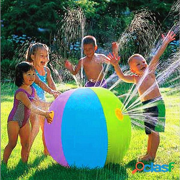 Boule gonflable de fontaine d'eau de boule de plage de natation en plein air des enfants d'été