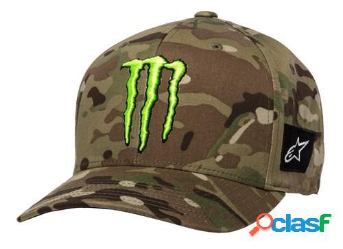 Alpinestars monster multicamo hat, casquettes pour le motard, vert