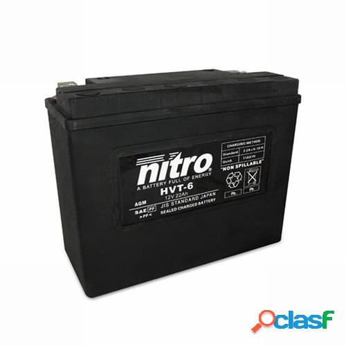 Nitro batterie fermée hvt, moto & scooter, 06