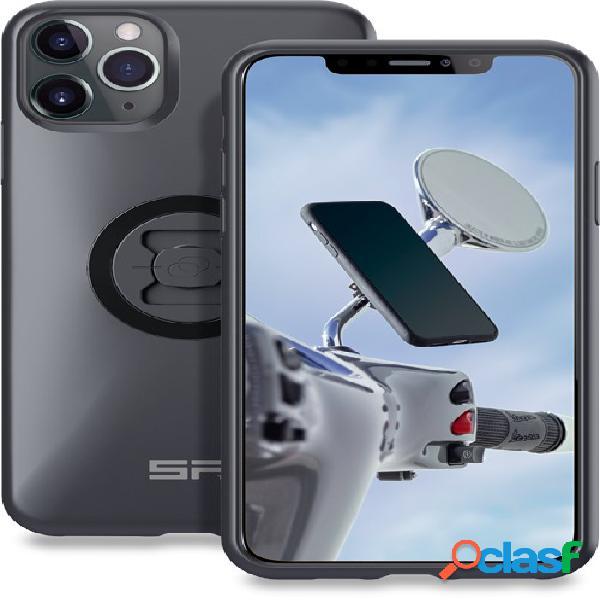 SP CONNECT Moto Mirror Bundle LT iPhone 11 Pro Max/XS Max, Support smartphone et GPS voiture, 2-en-1