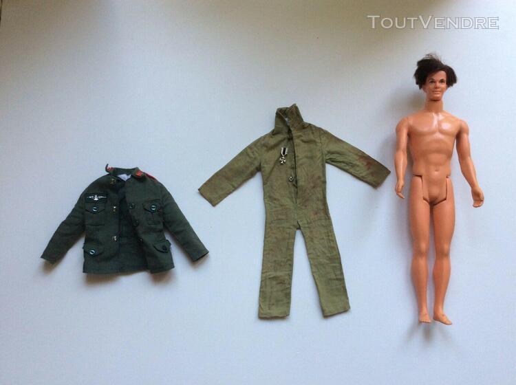 Ancienne figurine ken le copain de barbie accessoires