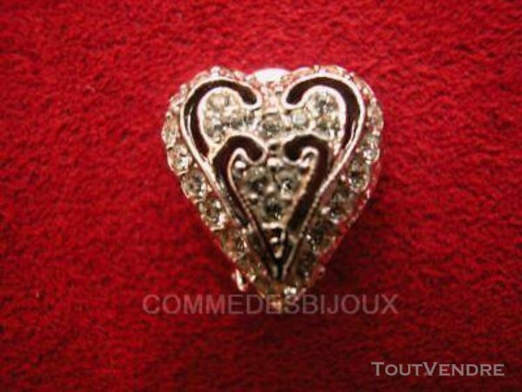 """Boucles d'oreille """"coeur"""" argentées cupidon amour true love"""