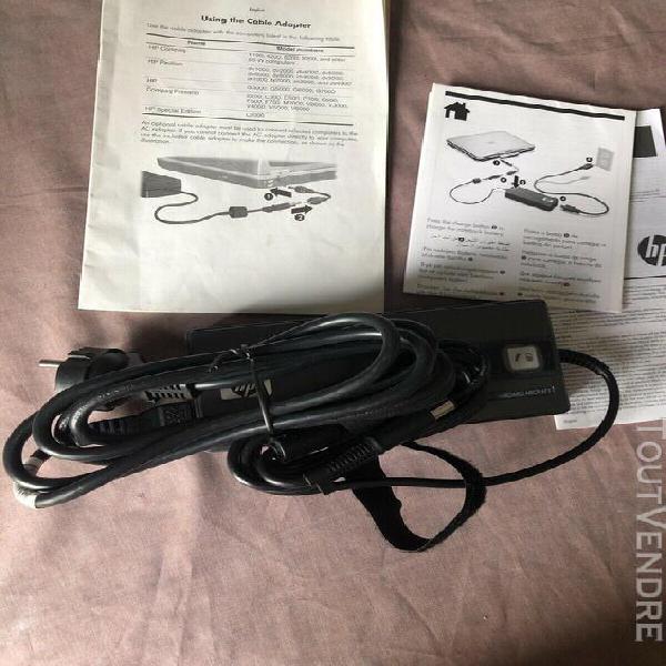 Chargeur hp secteur portable compaq 463957-001,080788-11