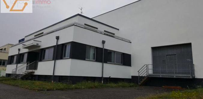 Entrepôt de 2560 m2 sur terrain de 55 ares d...