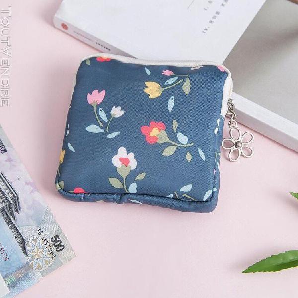 Etya mini femmes sac cosmétique mignon à fleurs petits