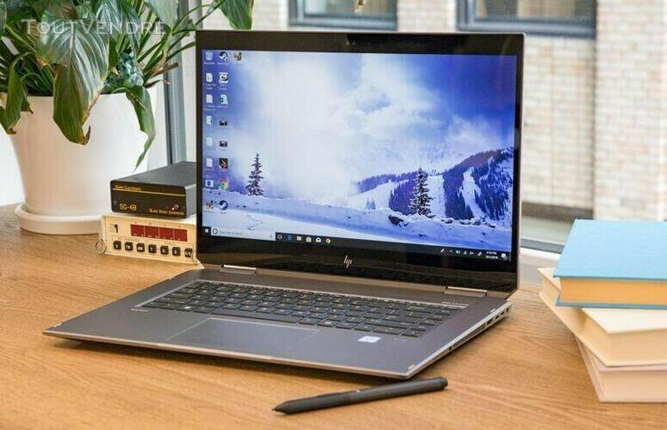 """Hp zbook studio x360 g5 15.6"""" - sure view - core i7-8750h 16"""