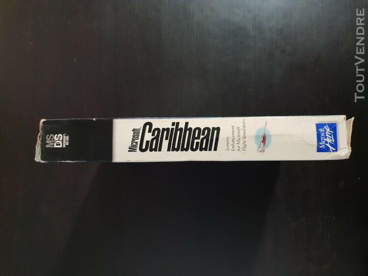 Jeux game pc big box microsoft caribbean flight simulator pc