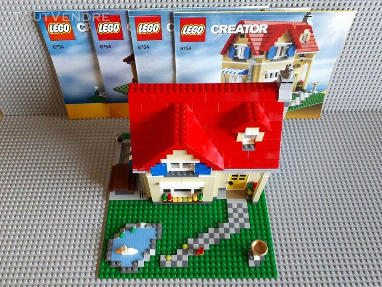 Lego creator - 6754 - maison familiale 3 in 1 complet + no