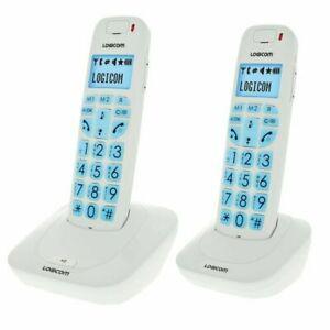 Logicom confort 250 duo téléphone sans fil sans répondeur