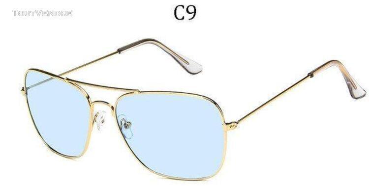 Lunettes de soleil classique vintage hommes/femmes lunettes