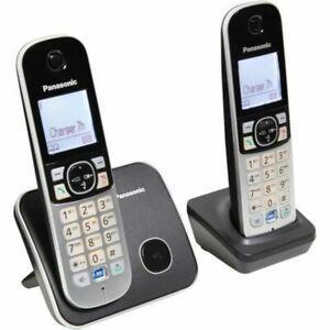 Panasonic téléphone résidentiel dect - tg6812 - duo sans