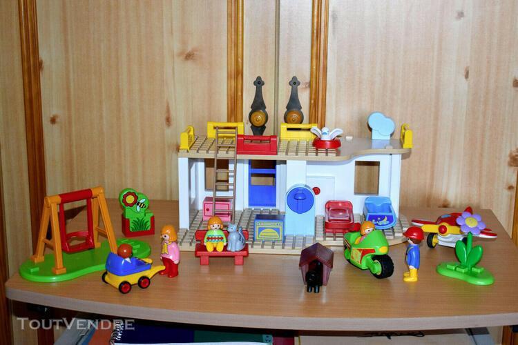 Playmobil maison 123 - réf 6784 incomplète