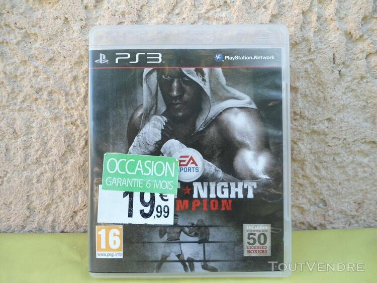 Ps3: fight night champion - pal complet.