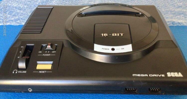Sega megadrive 1 pal rgb converted genesis 60 hz