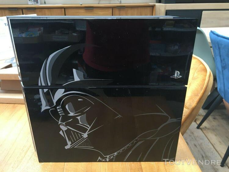 Sony playstation 4 console star wars limited edition black c