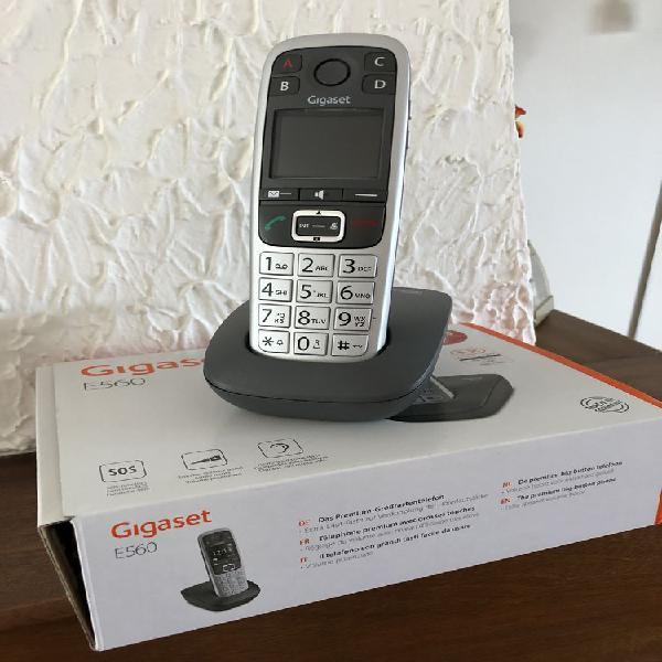 Téléphone gigaset e 560 - grosses touches neuf, metz